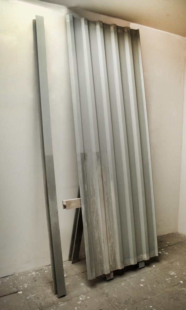 01.Corrugated Panel and I Beam