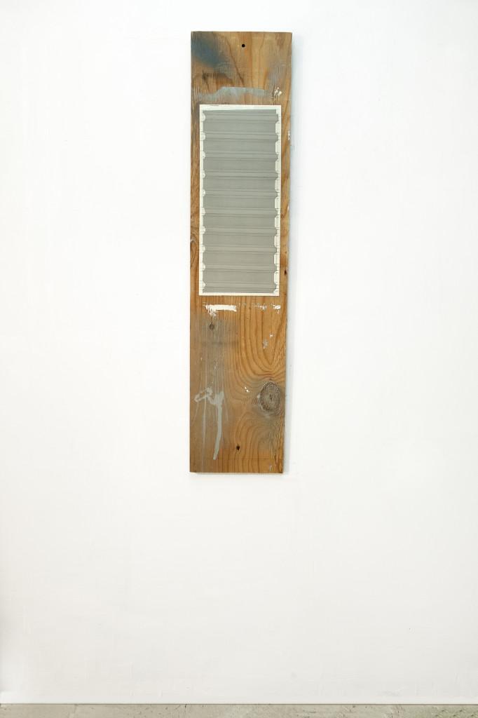 19. Tall Wall on wood
