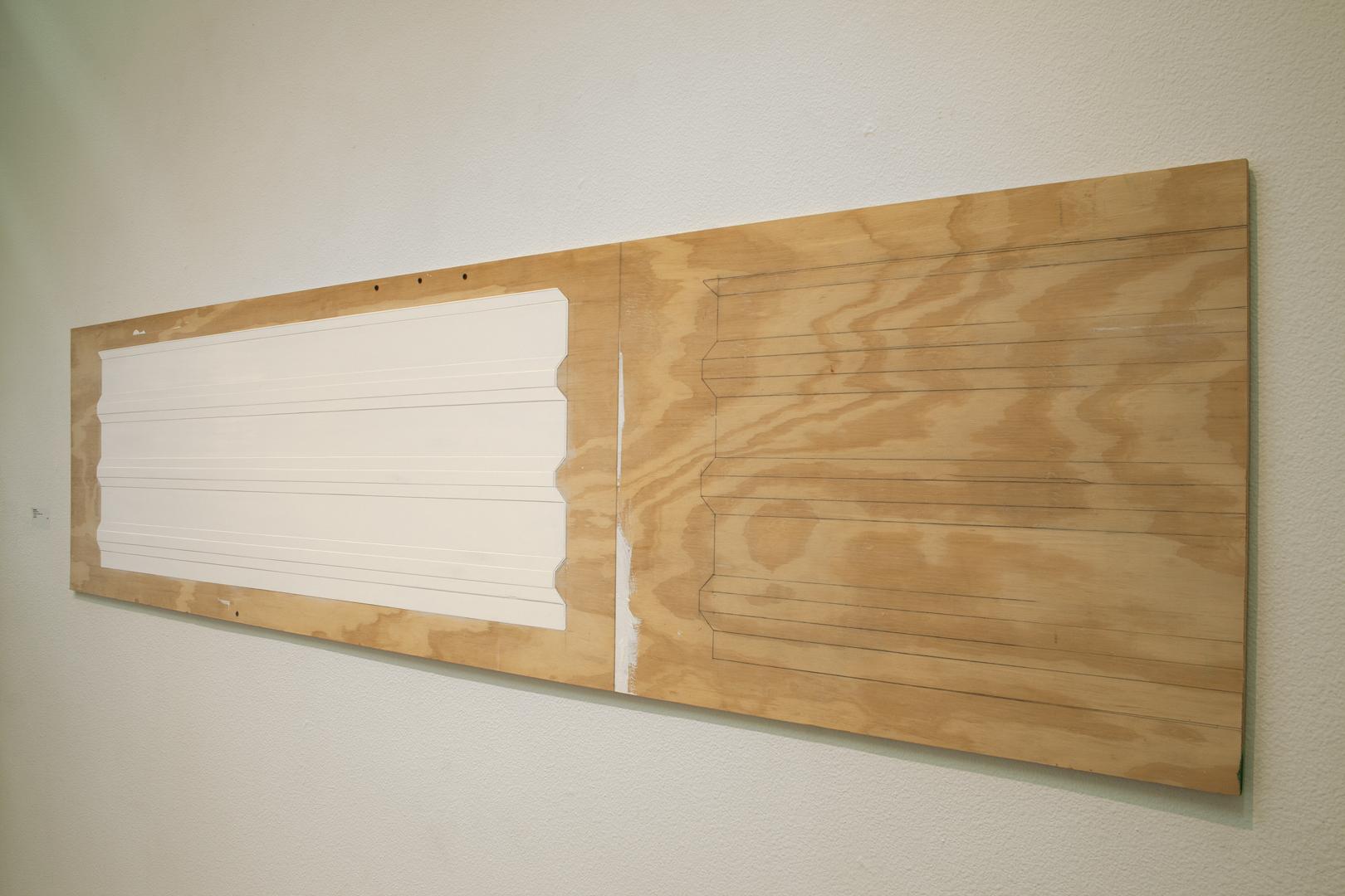 White Wall On Plywood Tom Miller Tom Miller
