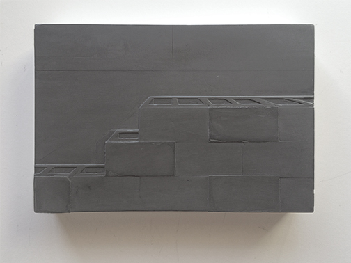 03. Gray Block Wall horizontal